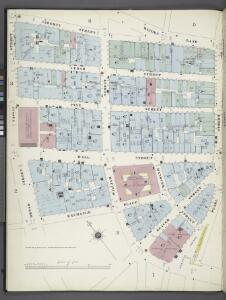 Manhattan, V. 1, Plate No. 4 west half [Map bounded by Maidey Lane, Pearl St., Exchange Pl., Broad St.]
