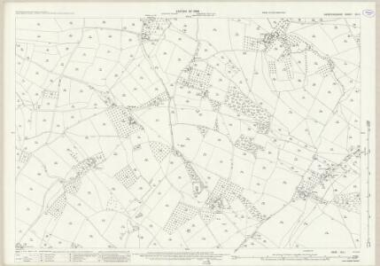 Herefordshire XIII.1 (includes: Laysters; Middleton On The Hill) - 25 Inch Map