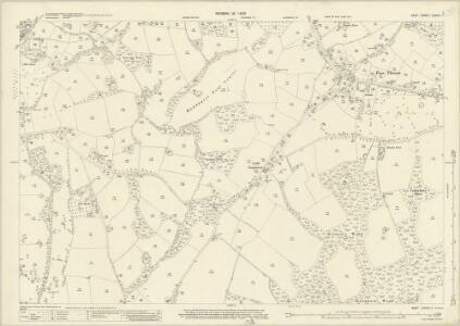 Kent LXXVIII.7 (includes: Hawkhurst; Sandhurst) - 25 Inch Map