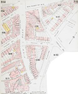 Insurance Plan of London West North-West District Vol. B: sheet 12-1