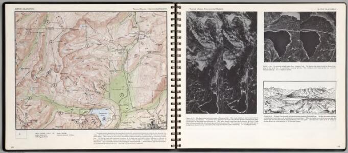 Alpine Glaciation. Terminal Moraine-Unsymmetrcal Glaciation. Holy Cross, Colo.