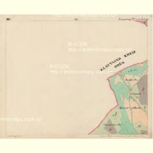 Eisenstrass - c1950-1-003 - Kaiserpflichtexemplar der Landkarten des stabilen Katasters
