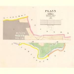 Plann - c5799-1-001 - Kaiserpflichtexemplar der Landkarten des stabilen Katasters