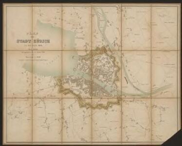 Plan der Stadt Zürich um das Jahr 1800