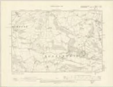 Montgomeryshire VI.SW - OS Six-Inch Map