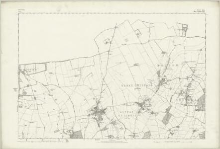 Hertfordshire V - OS Six-Inch Map