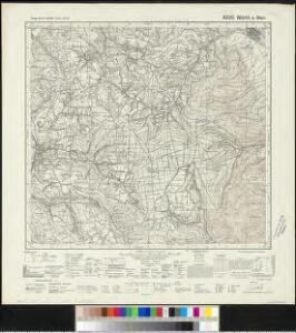 Meßtischblatt 6220 : Wörth a. Main, 1943