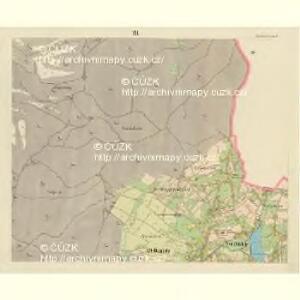 Alt Daubitz - c1452-1-008 - Kaiserpflichtexemplar der Landkarten des stabilen Katasters
