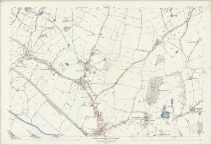 Staffordshire XXX.12 (includes: Marston; Sandon) - 25 Inch Map