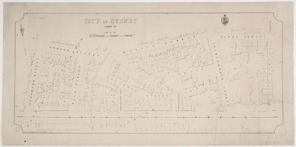 City of Sydney, Sheet E2, 1886
