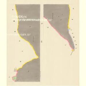 Lhotta ober Rohanow - c3934-1-004 - Kaiserpflichtexemplar der Landkarten des stabilen Katasters
