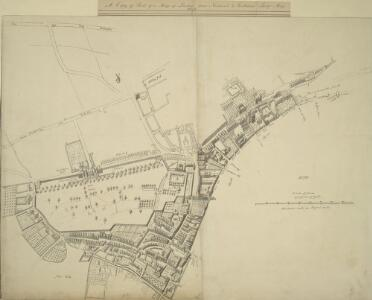 A Copy of Part of a Map of London from Newcourt