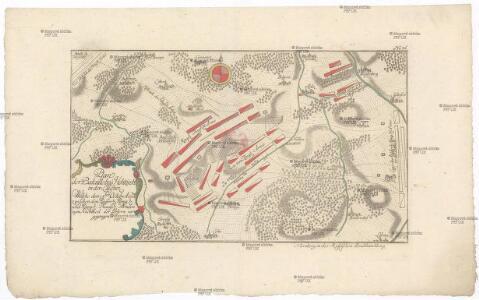 Plan der Bataille bey Hochkirch in der Lausniz, welche den 14.ten Octobr. A. 1758 zwischen den kayser. könig. und könig. preussi. Arméen zum Nachtheil der leztern vorgegangen