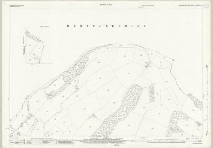 Buckinghamshire XXXIX.3 & 4 (includes: Ashley Green; Berkhampstead Urban; Bovingdon; Hemel Hempstead; Northchurch) - 25 Inch Map