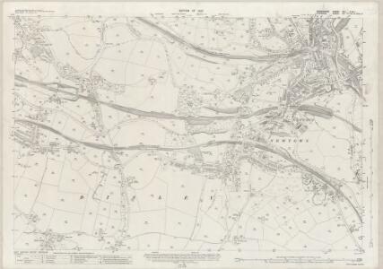 Derbyshire VIII.2 (Inset VIII.1) (includes: Disley; Lyme Handley; Marple; New Mills; Whaley Bridge) - 25 Inch Map