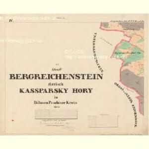 Bergreichenstein - c3068-1-004 - Kaiserpflichtexemplar der Landkarten des stabilen Katasters