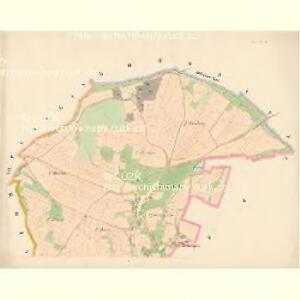 Krztienow - c3675-1-001 - Kaiserpflichtexemplar der Landkarten des stabilen Katasters