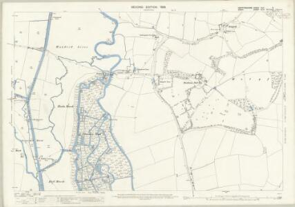 Hertfordshire XLII.5 (includes: Cheshunt; Waltham Holy Cross) - 25 Inch Map
