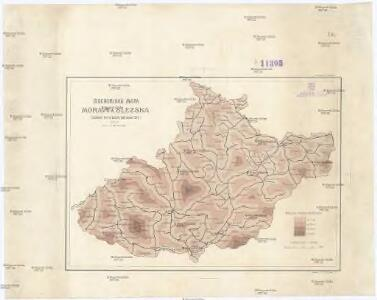 Isochorická mapa Moravy a Slezska