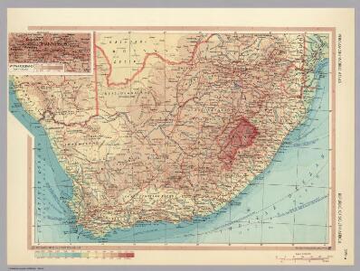 Republic of South Africa.  Pergamon World Atlas.