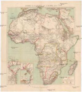 Afrika von R. Andree und A. Scobel