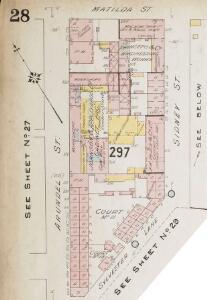 Insurance Plan of Sheffield (1896): sheet 28-1