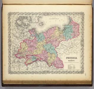 Prussia And Saxony.