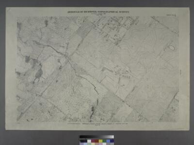 Sheet No. 62. [Includes New Dorp Lane, Southside Boulevard, Tysen's Lane, Guyon Avenue, Old Mill Road and Beach Avenue in New Dorp.]; Borough of Richmond, Topographical Survey.