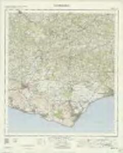 Eastbourne - OS One-Inch Map