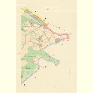 Hradischtl (Hradisste) - c2311-1-002 - Kaiserpflichtexemplar der Landkarten des stabilen Katasters
