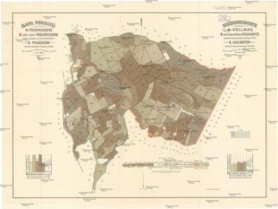 Mapa porostů revírů