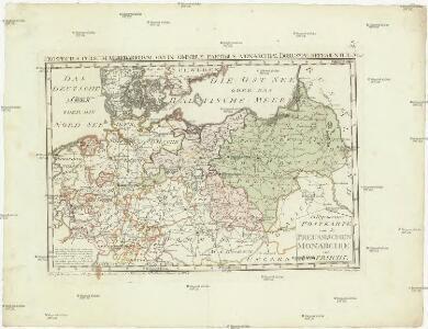 Allgemeine Postkarte von der Preussischen Monarchie zur Uebersicht