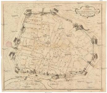 HANC VIENNAE Quam vides Geometricam faciem Archimedem Siracusanum Augustinus Hirsfogel â suo depictam radio imitatus est