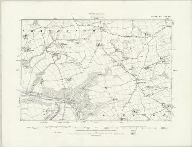 Devonshire XLII.NE - OS Six-Inch Map