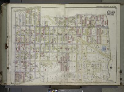 Brooklyn, Vol. 1, 2nd Part, Double Page Plate No. 45; Part of Wards 26, Section 13; [Map bounded by McKinley Ave. (Magenta St.), Autumn Ave., McKinley Ave., boundary line of the boroughs of Brooklyn and Queens, Dumont Ave., Crystal Ave.; Including New...