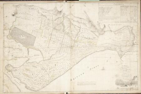 A Plan of that Part of the Parish of Golspie Lying betwixt the Policy of Dunrobin and the Bay of the Little Ferry The Property of the Right Honourable Elizabeth, Countess of Sutherland / Made out from