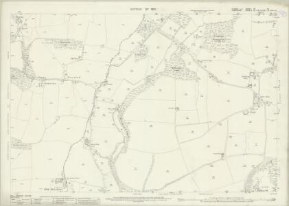 Sussex XX.15 (includes: Buriton; Harting) - 25 Inch Map