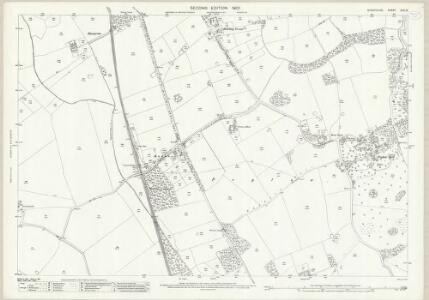 Shropshire XXII.12 (includes: Hodnet; Stanton Upon Hine Heath; Stoke Upon Tern) - 25 Inch Map