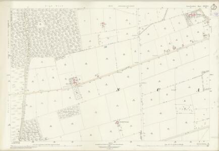 Lincolnshire XXVII.2 (includes: Holme; Manton; Scawby) - 25 Inch Map