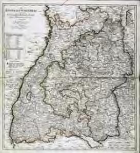 Das Kœnigreich Würtemberg nebst dem Grosherzogthum Baaden, den Fürstenthümern Hohenzollern und Layen