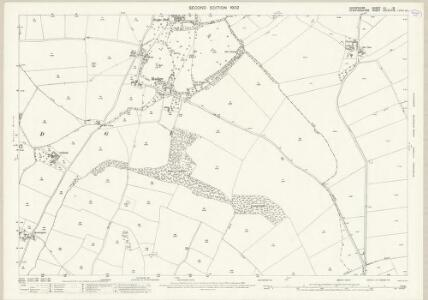 Shropshire LII.16 (includes: Claverley; Pattingham; Rudge; Trysull And Seisdon) - 25 Inch Map