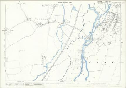 Middlesex XIV.15 (includes: Iver; Yiewsley and West Drayton) - 25 Inch Map