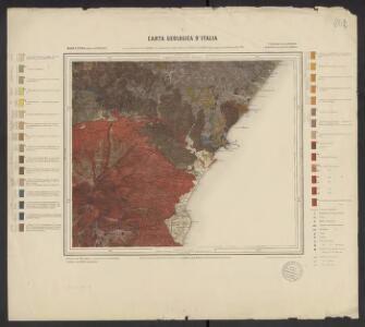 Carta geologica d'Italia. 262, Monte Etna (isola di Sicilia)