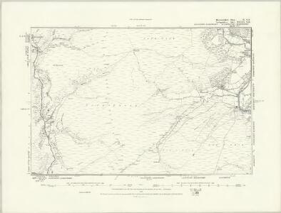 Brecknockshire IX.NW - OS Six-Inch Map