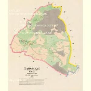 Nahorzan - c4943-1-001 - Kaiserpflichtexemplar der Landkarten des stabilen Katasters