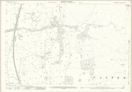 Westmorland XLVIII.1 (includes: Barbon; Casterton) - 25 Inch Map