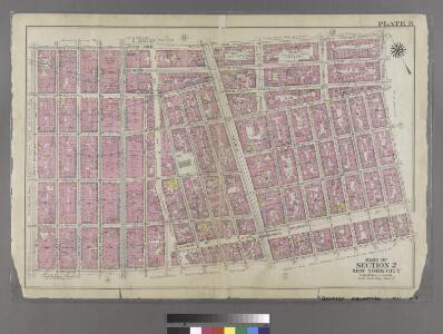 [Plate 8: Bounded by W. 3rd Street, Great Jones Street,E. 3rd Street, Avenue A, Essex Street, Broome Street, and West Broadway.]