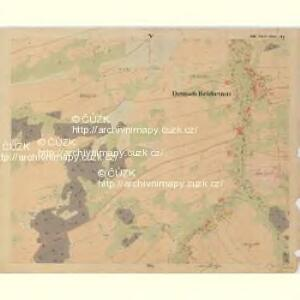 Deutsch Reichenau - c6659-2-005 - Kaiserpflichtexemplar der Landkarten des stabilen Katasters