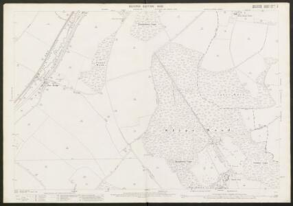 Wiltshire XXXVII.2 (includes: Froxfield; Hungerford; Little Bedwyn; Shalbourne) - 25 Inch Map