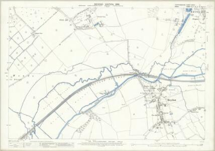 Hertfordshire XXXVII.2 (includes: Hunsdon; Roydon; Stanstead Abbots) - 25 Inch Map